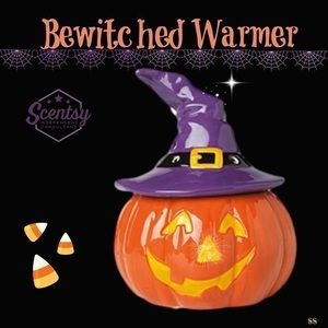 New in box Scentsy Bewitched Warmer